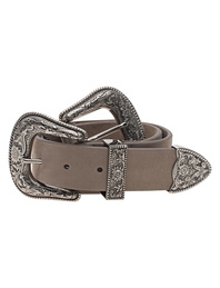 B-LOW THE BELT  Bri Bri Taupe Silver