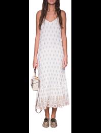 RUBY YAYA Jewel Dress Off White