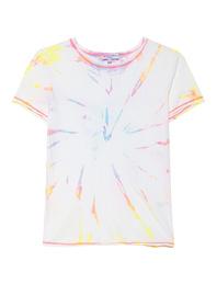Michael Stars Classic Tie Dye Neon Starburst Multicolor