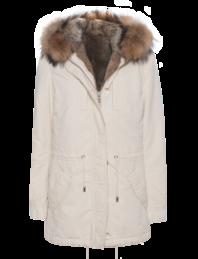 IQ BERLIN Lined Fur Off-White