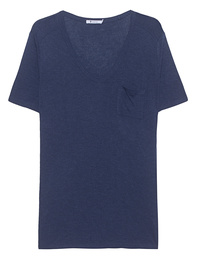 T BY ALEXANDER WANG Classic Pocket Navy