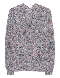 T BY ALEXANDER WANG V-Neck Multi Knit