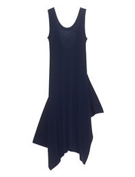 T BY ALEXANDER WANG Asym Rib Dark Blue