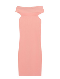 T BY ALEXANDER WANG Shoulder Drape Salmon