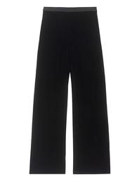 T BY ALEXANDER WANG Pants Velvet Black