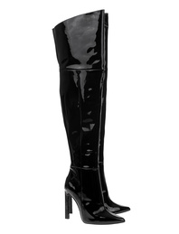 STEFFEN SCHRAUT Patent Leather Black