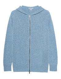 AVANT TOI Knit Zip Wool Cashmere Light Blue