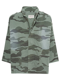 CURRENT/ELLIOTT The Fleet Admiral Sea Grass Camo Overdye