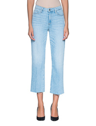 PAIGE Nellie Raw Hem Lightblue