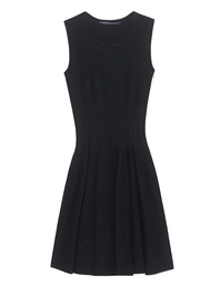 ANTONINO VALENTI Aries Skater Dress Black