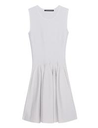 ANTONINO VALENTI Aries Skater Dress White Silver
