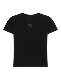 T BY ALEXANDER WANG Puff Paint Logo Black