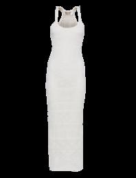 EMILIO PUCCI Crochet Braided Straps White