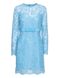 EMILIO PUCCI Long Lace Bow Light Blue
