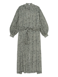 LALA BERLIN Dilek Stripes Olive