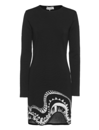 EMILIO PUCCI Wool Swing Pattern Black