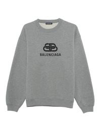 BALENCIAGA BB Wording Grey