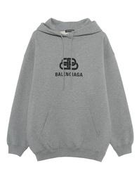 BALENCIAGA Hood BB Grey