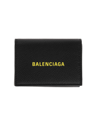 BALENCIAGA Mini Wallet Yellow Black