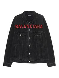 BALENCIAGA Logo Front Black