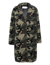 STAND Camille Coocon Camouflage Faux Fur