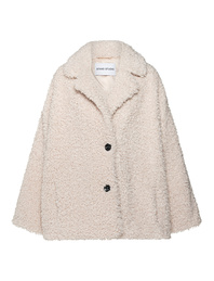 STAND STUDIO MARILYN FAUX FUR OFFWHITE