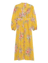 ZIMMERMANN Zinnia Long Button Front Yellow