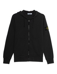 STONE ISLAND Zip Logo Patch Anthracite