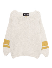 PAUL X CLAIRE Oversize Knit Off-White