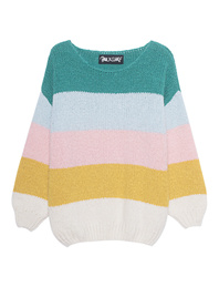 PAUL X CLAIRE Knit Striped Multicolor