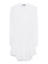 SLY 010 Pleated Blouse White