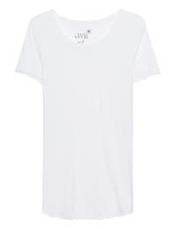 JUVIA Basic Crew White