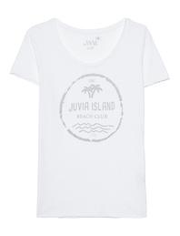 JUVIA Juvia Island Shirt White