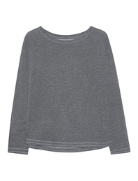 JUVIA Fleece Sweatshirt Graphit