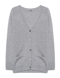 JUVIA Cash Mix Cardi Grey