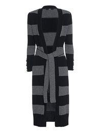 SLY 010 Long Knit Stripe Black