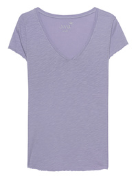 JUVIA V-Neck Basic Lavender