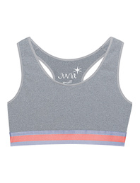 JUVIA Top Active Grey Melange