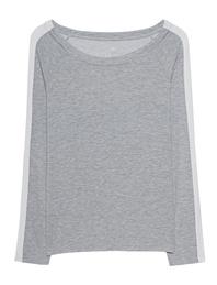 JUVIA Stripe Sleeve Grey