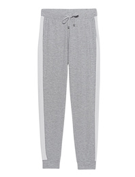 JUVIA Jogger Stripe Light Grey Melange