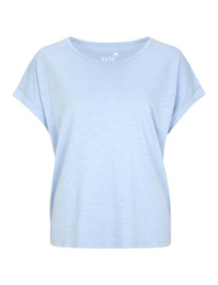 JUVIA Crew Neck Boxy Light Blue