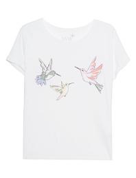 JUVIA Hummingbird Front White
