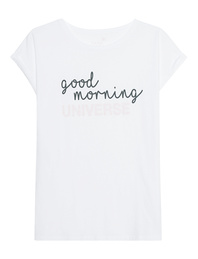 JUVIA Good Morning Shirt White