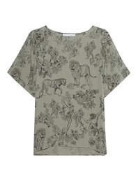 JUVIA Printed Shirt Olive
