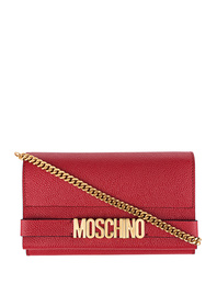 MOSCHINO Small Leather Red