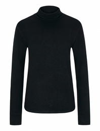 JUVIA Slim Turtle Neck Black