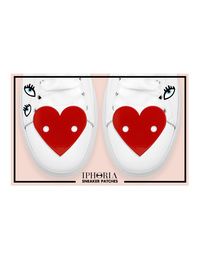 IPHORIA Patches Hearts Red