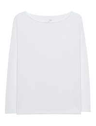JUVIA Crew Neck White
