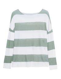 JUVIA Cotton Stripes Green