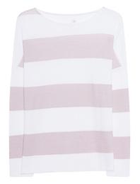 JUVIA Cotton Stripes Beige